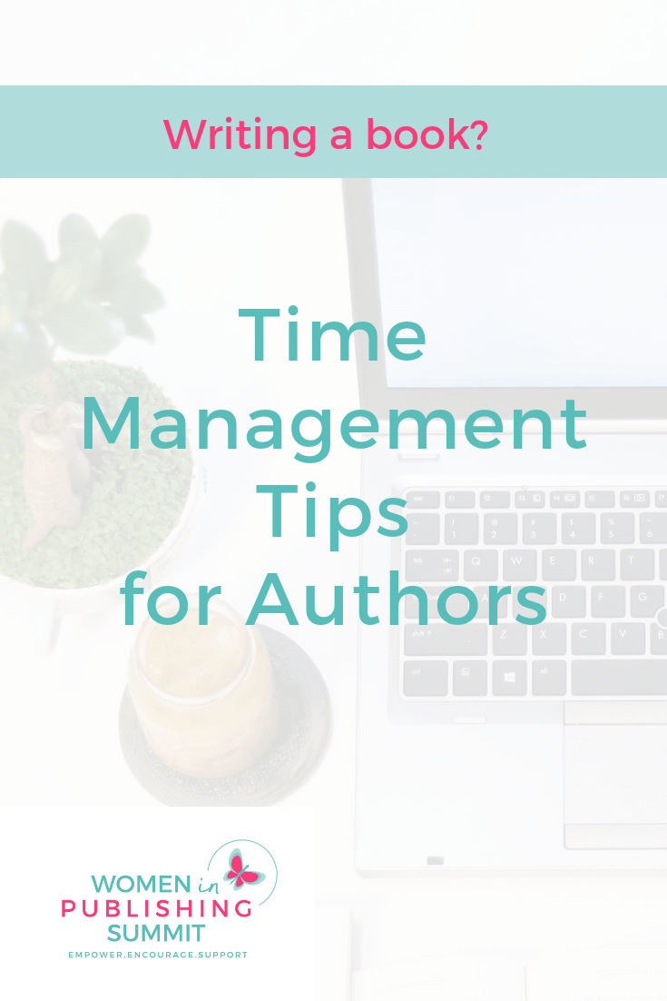 time management tips for authors
