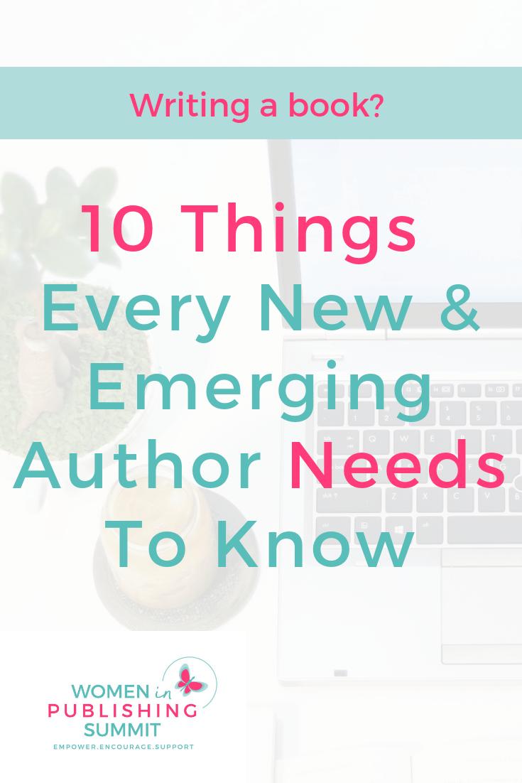 new authors