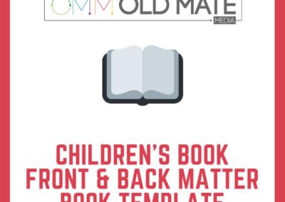 Children's Book Formatting Template