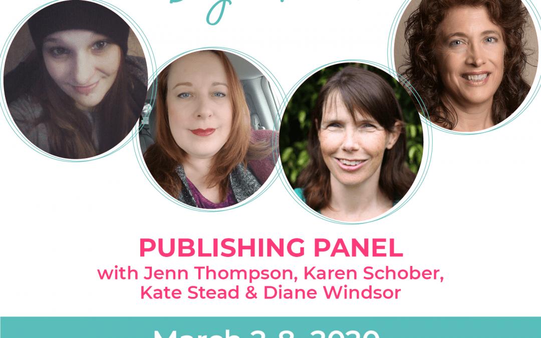 Day 3: Publishers Panel: Karen Schober, Jenn Thompson, Kate Stead, Diane Windsor
