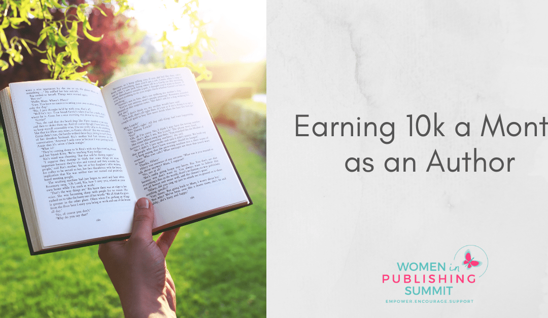 Earning 10k a Month as an Author