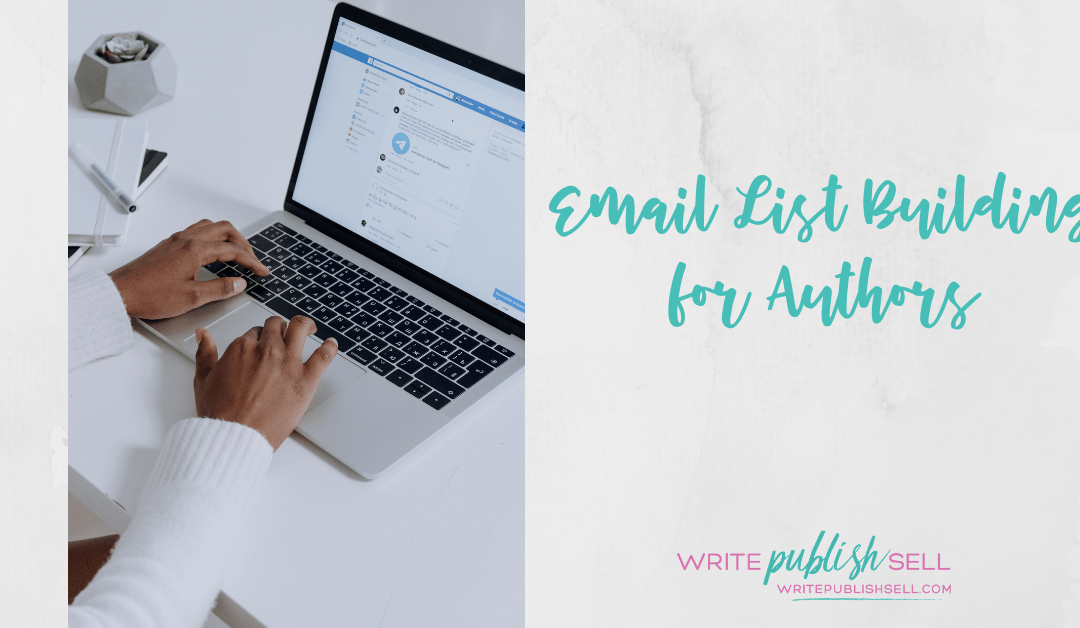 Email lists for authors – monthly training session