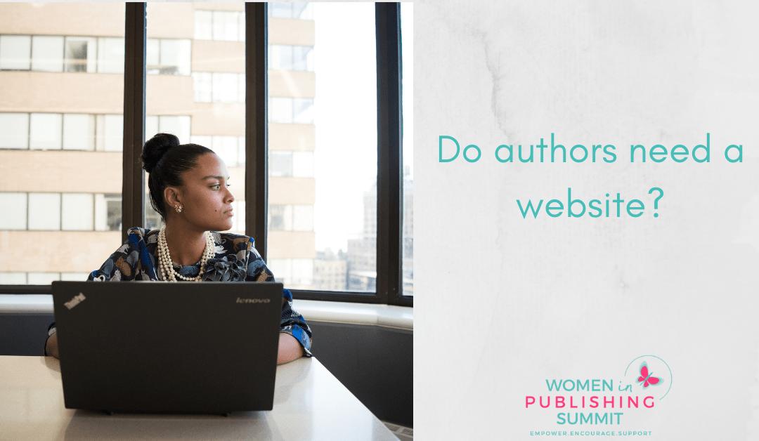 Do you need an author website?