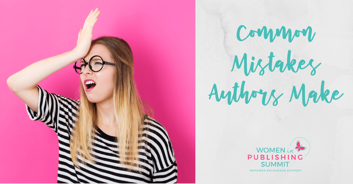 Common Mistakes Authors Make