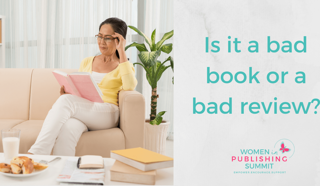 Is it a bad book or a bad review?