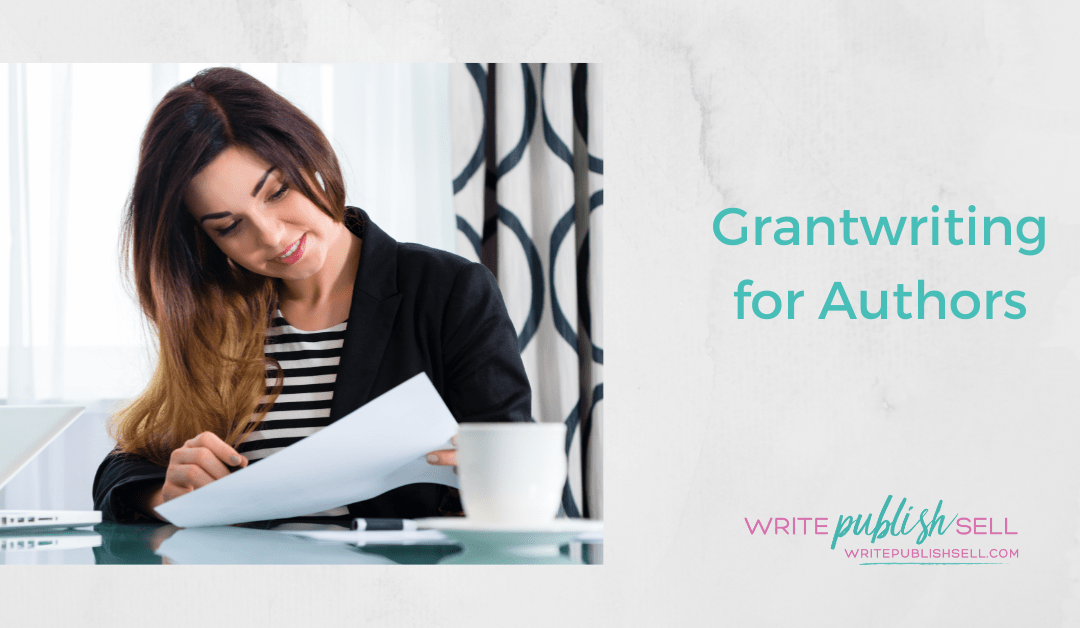 Grant writing for Authors